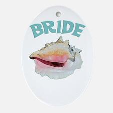 Island Bride Ornament (Oval)