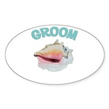 Island Groom Decal