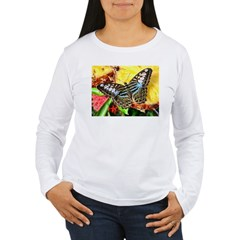 Butterfly on Pineapple T-Shirt