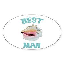 Island Best Man Decal