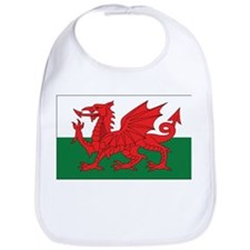 Wales Flag Bib