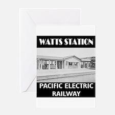Watts Station Greeting Card