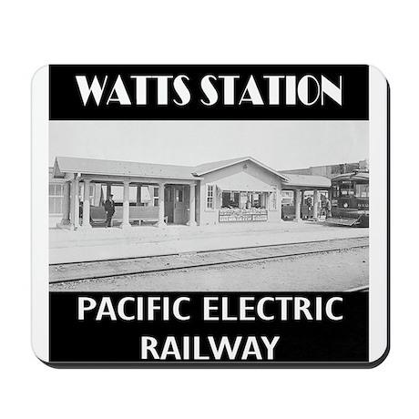 Watts Station Mousepad