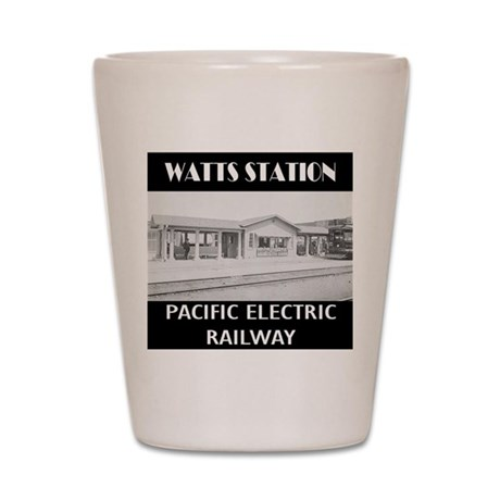 Watts Station Shot Glass