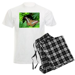 Butterfly on Green Foliage Pajamas