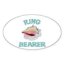 Beach Wedding Ring Bearer Decal