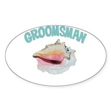 Island Groomsman Decal