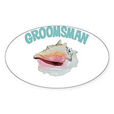 Island Groomsman Decal