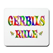 GERBILS RULE Mousepad