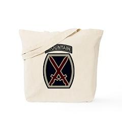 10th Mountain Division ACU Tote Bag