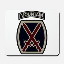 10th Mountain Division ACU Mousepad