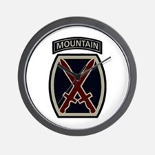 10th Mountain Division ACU Wall Clock