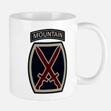 10th Mountain Division ACU Mug
