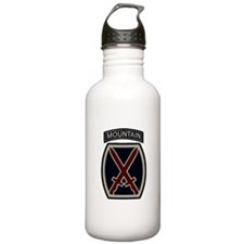 10th Mountain Division ACU Sports Water Bottle