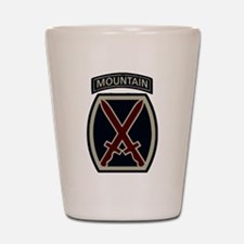 10th Mountain Division ACU Shot Glass
