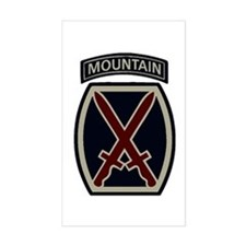 10th Mountain Division ACU Decal