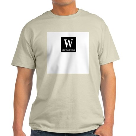 West Coast Swing Ash Grey T-Shirt