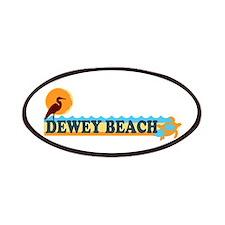 Dewey Beach DE - Beach Design Patches