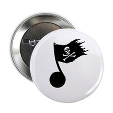 "Music Pirate 2.25"" Button"