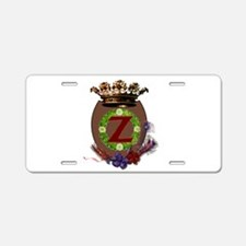 Z Crest Aluminum License Plate