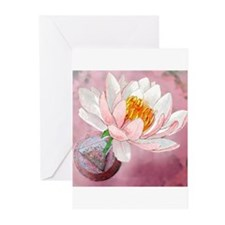 Lotus Serenity Greeting Cards (Pk of 10)