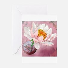 Lotus Serenity Greeting Cards (Pk of 10)
