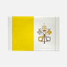 Vatican City Flag Rectangle Magnet