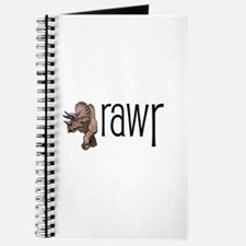Dinosaurs Go Rawr Journal