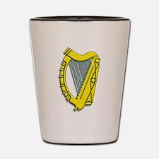 Celtic, Gaelic, Irish Harp Shot Glass