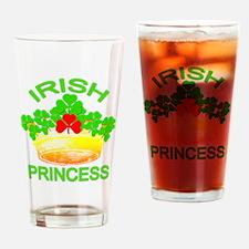 Cute Irish princess Drinking Glass