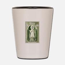 Gorgeous Irish Stamp Shot Glass