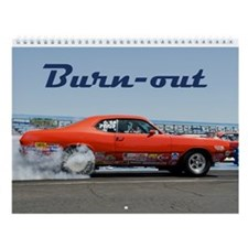 Burn-out Wall Calendar