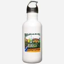 Unique Louisiana art Water Bottle
