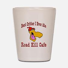 Road Kill Cafe Shot Glass