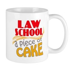 Law School - Piece of Cake Mug