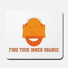 Mr. Tony Inner Orange Mousepad