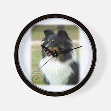 Shetland Sheepdog 9J090D-04 Wall Clock