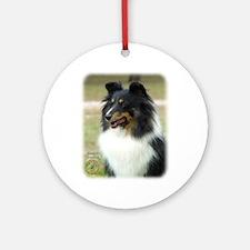 Shetland Sheepdog 9J090D-04 Ornament (Round)