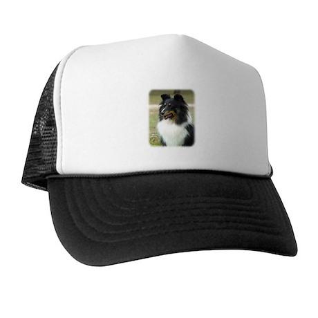 Shetland Sheepdog 9J090D-04 Trucker Hat