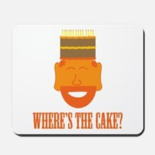 Where's the Cake? Mousepad