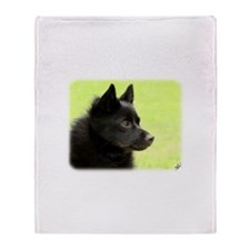 Schipperke 9Y506D-026 Throw Blanket