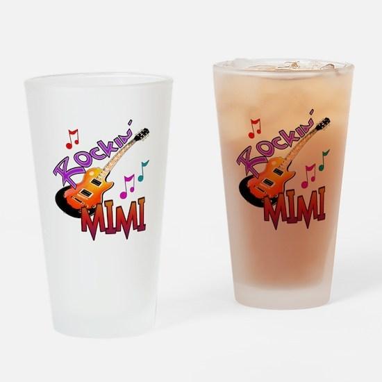 ROCKIN MIMI Drinking Glass