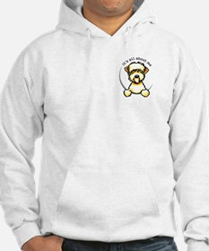 Wheaten Terrier Lover Pocket Jumper Hoody