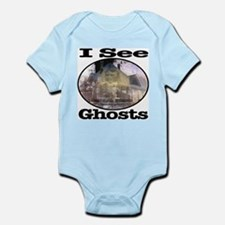 I See Ghosts Infant Bodysuit