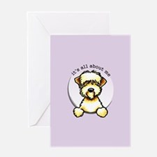 Funny Wheaten Terrier Greeting Card