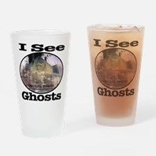 I See Ghosts Drinking Glass