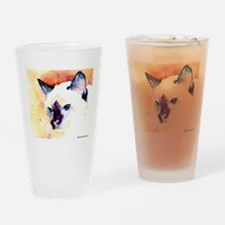 Siamese Cat Gifts Drinking Glass