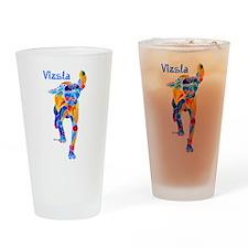 Hungarian VIZSLA Drinking Glass