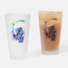 Unicorns Drinking Glass