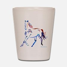 Horse of Many Colors Shot Glass
